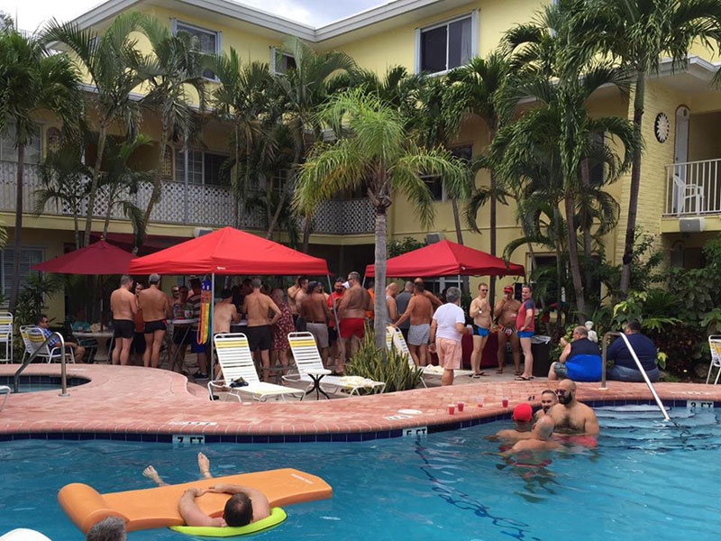 Gay Fort Lauderdale Resorts Worthington Resorts: Alcazar, Villa Venice