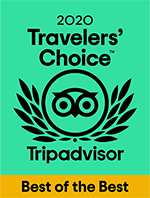 Tripadvisor - Travelers' Choice Best of the Best 2020